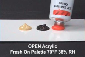 Open palette differnet times