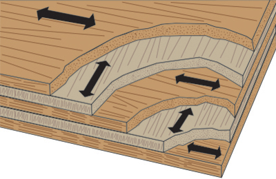 flat organizational structure diagram plywood triangle gussets for wood structure: how does dpw ... wood structure diagram