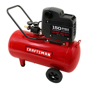 Oil-Free, 20 gallon Air Compressor