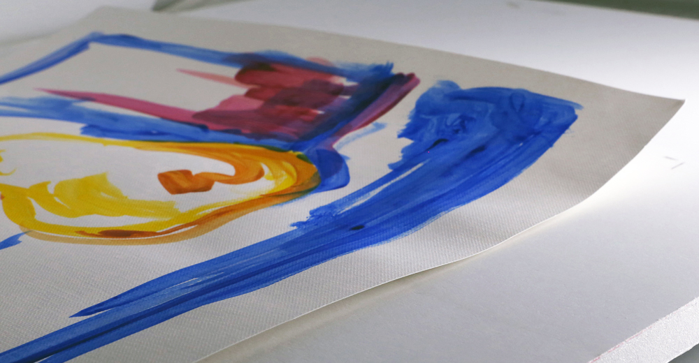 paper warping when painting with acrylics just paint