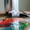 Mix standard paints with OPEN paints, gels and mediums to adjust drying time as desired.