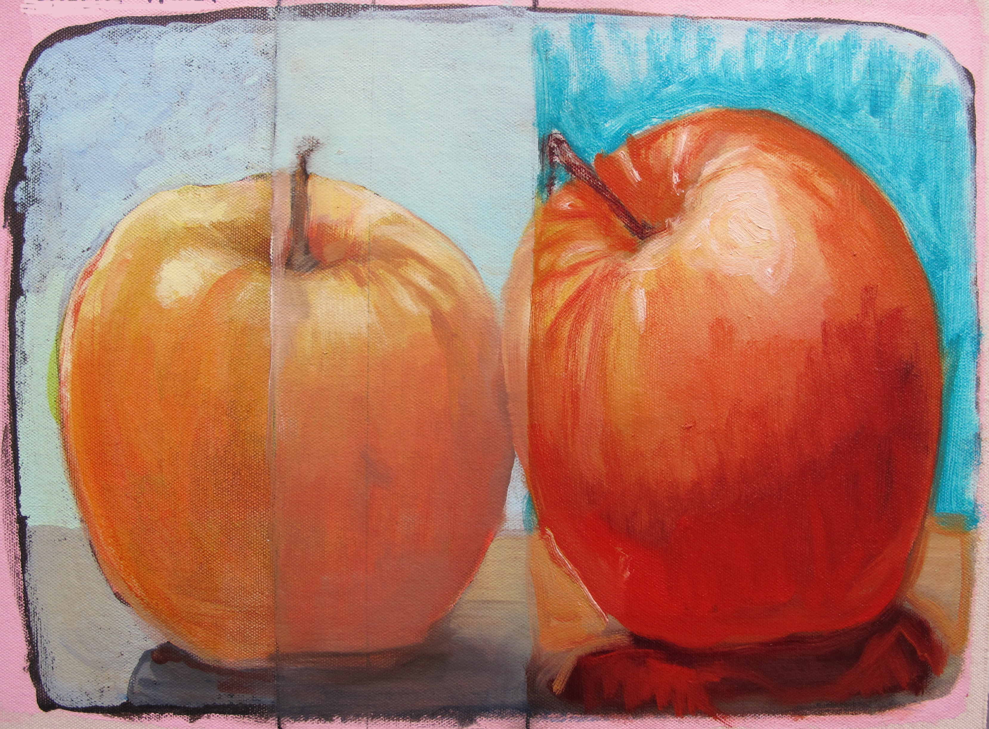 Acrylic or Watercolor Underpainting for Oils | Just Paint